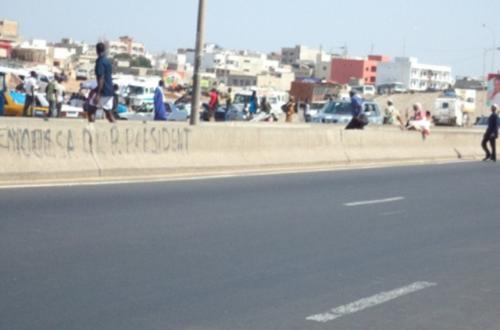 Article : Dakar: Des images qui choquent sur l'autoroute