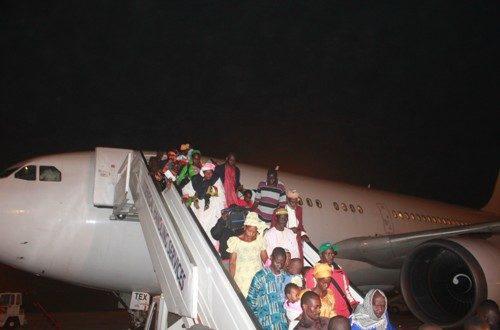 Article : Audio:Le Sénégal rapatrie ses ressortissants de Centrafique,forte émotion à l'accueil