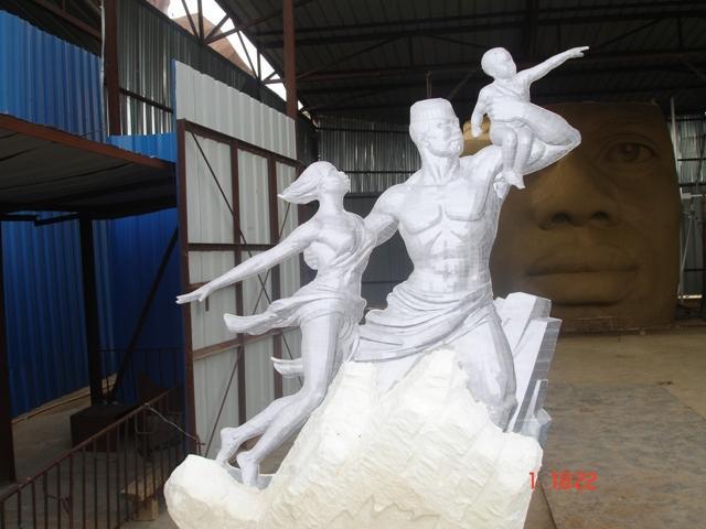 le plus grand monument du Sénégal