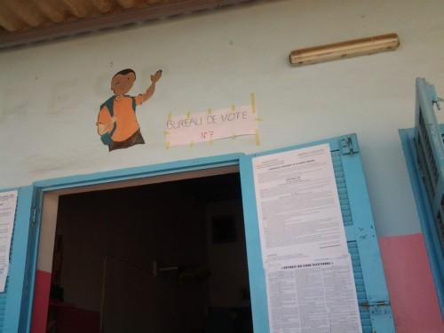 Bureau de vote député Thierno Bocoum