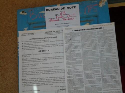 Bureau de vote ministre conseiller du Président Mbaye Ndiaye